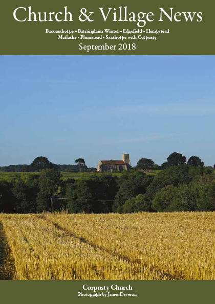 Church and village news September 2018