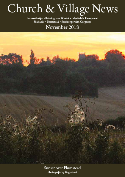 Church and village news November 2018