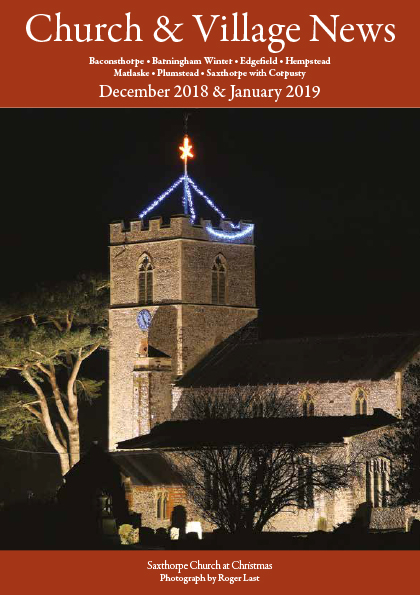 Church and village news December 2018